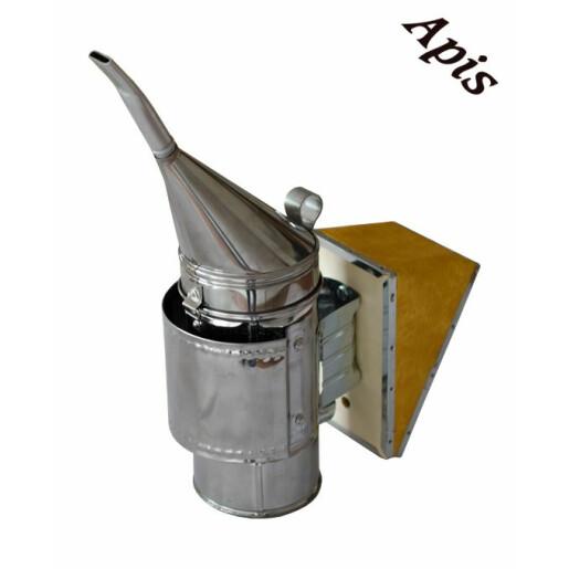 Afumator INOX cu pipa - NOU