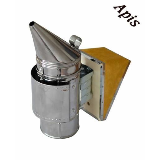 Afumator albine din INOX cu tub zincat - NOU