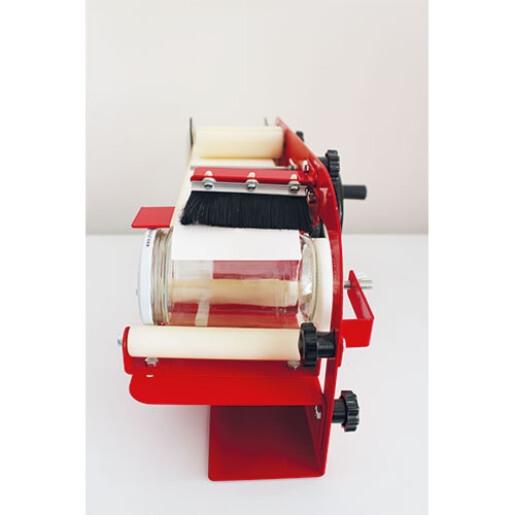 Masina pentru etichetat, semiautomata