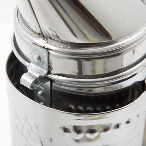 Afumator inox, cu pipa, 25 cm