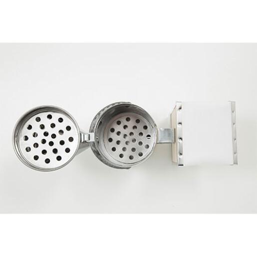 Afumator galvanizat, cu tub, 25 cm