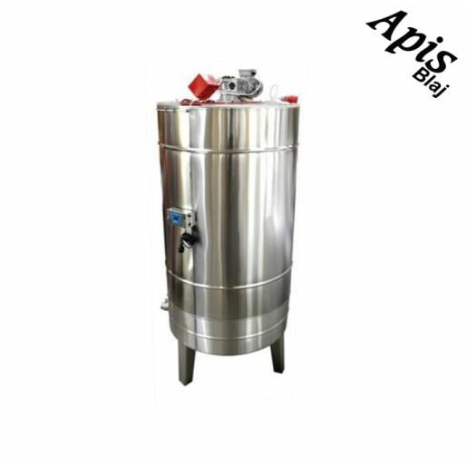 Bazin pentru miere 1000 l (1350 kg miere) cu capac si incalzire