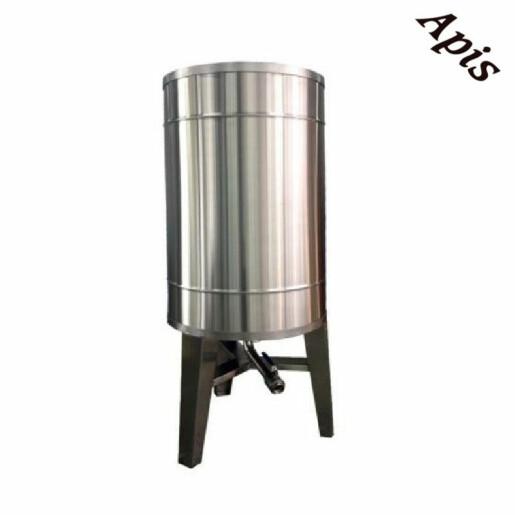 Bazin pentru miere 1000 l cu capac si picioare - Lyson