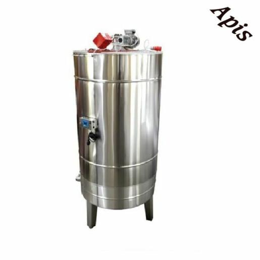 Bazin pentru miere 500 l  cu capac si omogenizator - Lyson