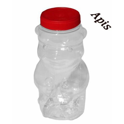 """Borcan din plastic """"urs"""", 1 kg"""