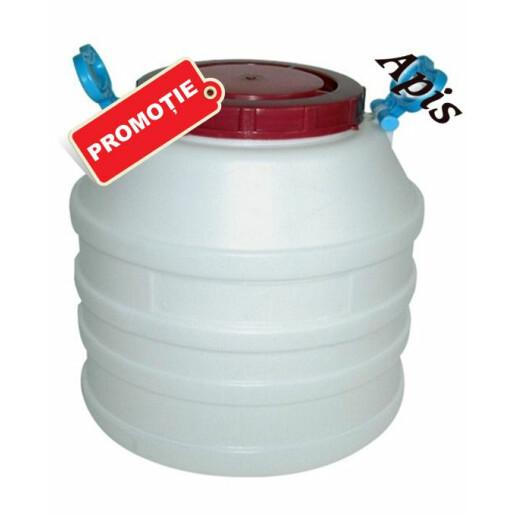 Butoi plastic, 35 l / 50 kg