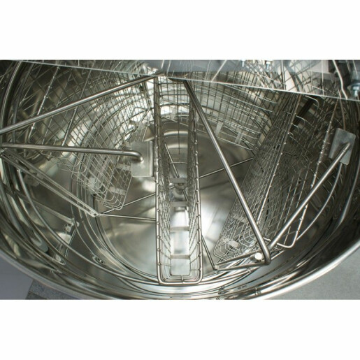 Centrifuga de miere, electrica, cu casete, diam.600 mm (Lyson)