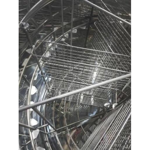 Centrifuga radiala si cu casete, diam 800mm full automata (Lyson)