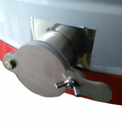 Centrifuga tangentiala, 4 rame,manuala, canea plastic