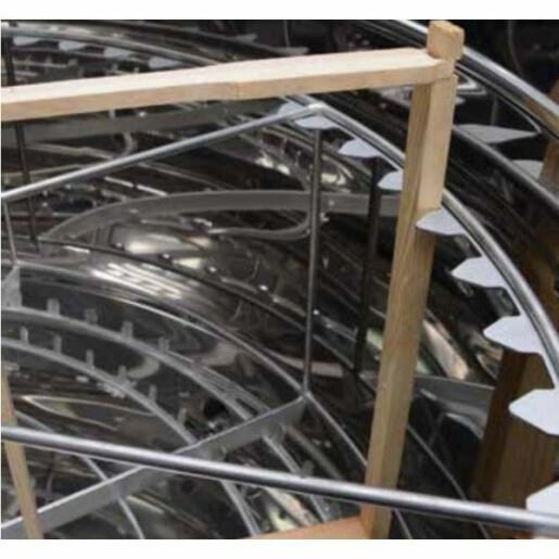Cos radial pentru centrifuga cu diam 1200 mm