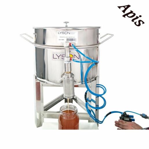 Dozator pneumatic pentru miere