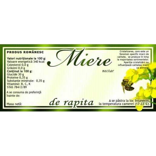 Eticheta miere de Rapita