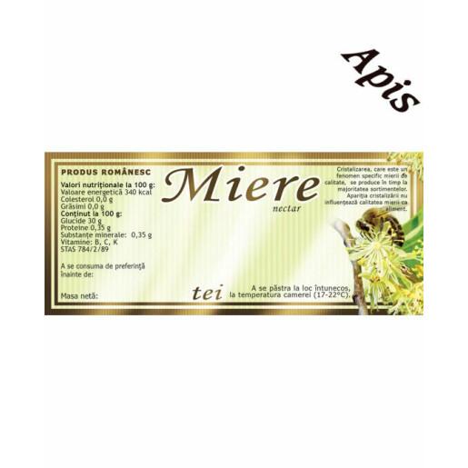 Etichete miere de Tei