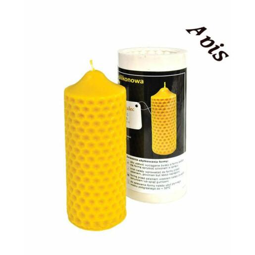 """Forma de lumanare """"Cilindrul albinei"""" din silicon - Lyson"""