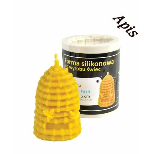 """Forma de lumanare """"Cos cu albinute"""", din silicon - Lyson"""