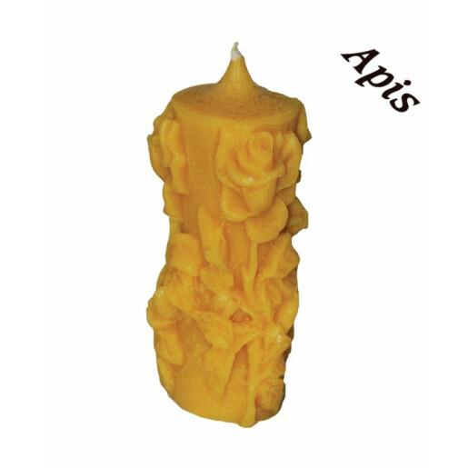 """forma de lumanare """"trandafir"""", din silicon - Lyson"""