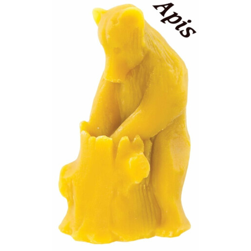 """Forma de lumanare """"Urs cu miere"""" din silicon - Lyson"""