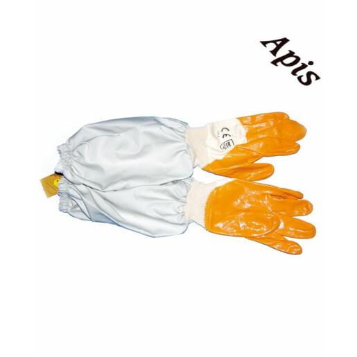 Manusi de guma cu panza