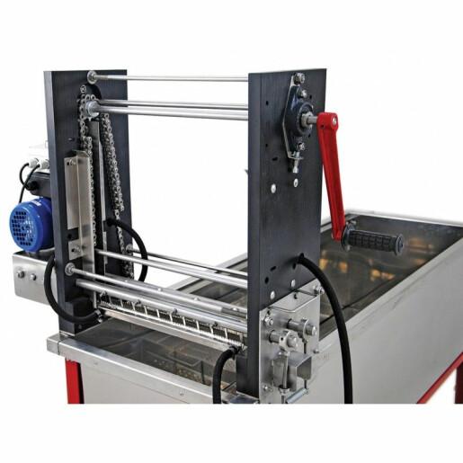 Masina de descapacit semiautomata, 1500mm, 220V, cutite electrice