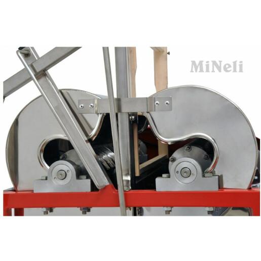 Masina de descapacit semiautomata INOX - Mineli