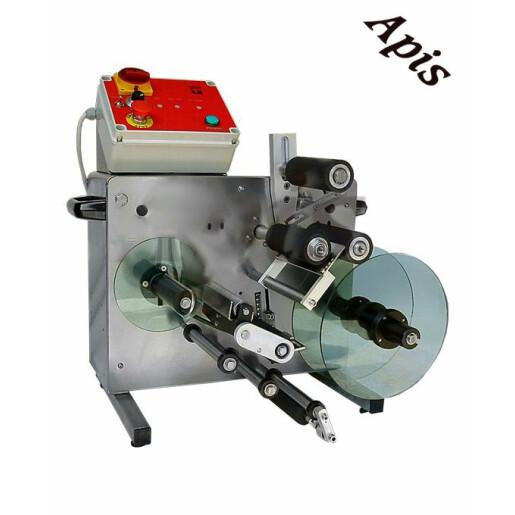 Masina semiautomata de etichetat borcane