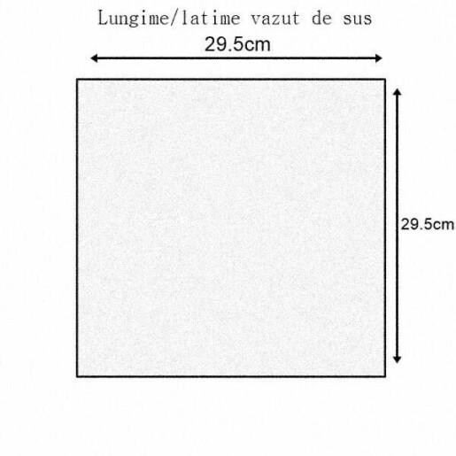 Nucleu de imperechere din polistiren - 6 rame, nevopsit