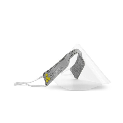 Mini masca de protectie, cu vizor panoramic