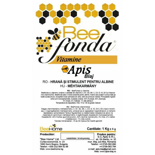 Turta albine Beefonda cu vitamine (Extra)