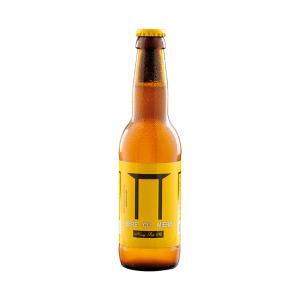 Bere cu miere, 0.33 l, blonda, nepasteurizata si nefiltrata