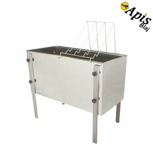 Banc de descapacit din inox, Economic  750 mm(Lyson)