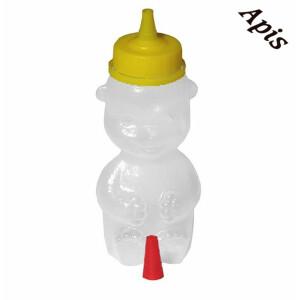 "Borcan din plastic ""urs"", 250g"