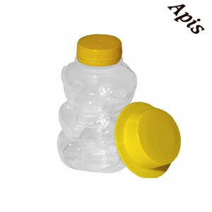 "Borcan din plastic ""urs"", 350g"