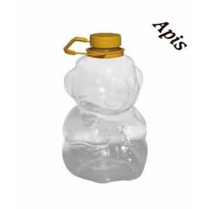 """Borcan din plastic """"urs"""", 3kg"""
