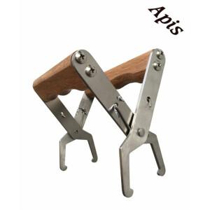 Cleste pentru prins rama cu maner de lemn