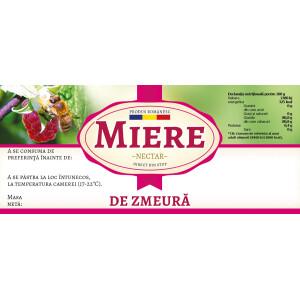 "Etichete miere de ""Zmeura"" (116x50 mm)"