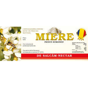 Eticheta miere Salcam Nectar (154x60 mm)