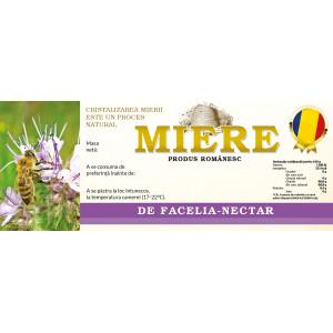 Eticheta miere Facelia Nectar (154x60 mm)