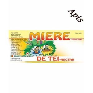Eticheta miere de tei (116x50 mm)