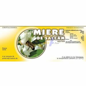 "Eticheta miere ""Salcam-nectar"""