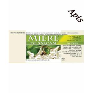 Etichete de miere de Salcam (116x50 mm)