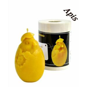 Forma de lumanare Pui in ou din silicon - Lyson