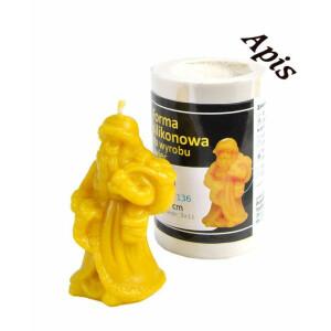 """Forma de lumanare """"Sf Nicolae"""", din silicon - Lyson"""