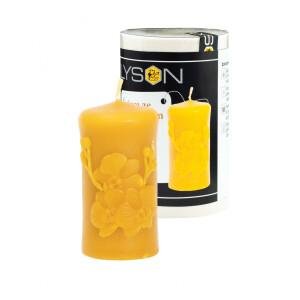 """Forma de lumanare """"cilindru cu orhidee"""", din silicon, Lyson"""