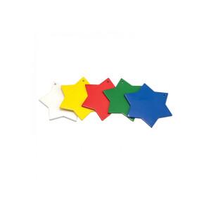 Set marcare stup din metal, 5 culori tip steluta