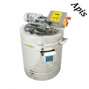 Instalatie pentru decristalizare si transformarea mierii in crema, 150 L (230 V) full automata, PREMIUM