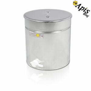 Maturator din inox 50 l miere cu canea plastic   - Lyson