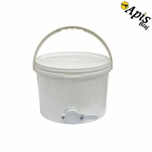 Maturator miere polipropilena, 10l, cu robinet plastic