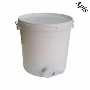 Maturator miere polipropilena, 18l, cu robinet plastic