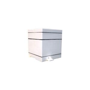 Mini stup nevopsit (soclu, corp, capac, fara rame) Lyson
