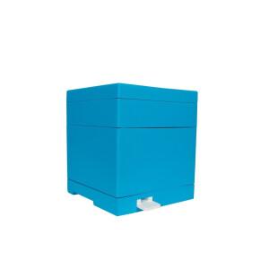 Mini stup vopsit (soclu, corp, capac, hranitor fara rame) Lyson